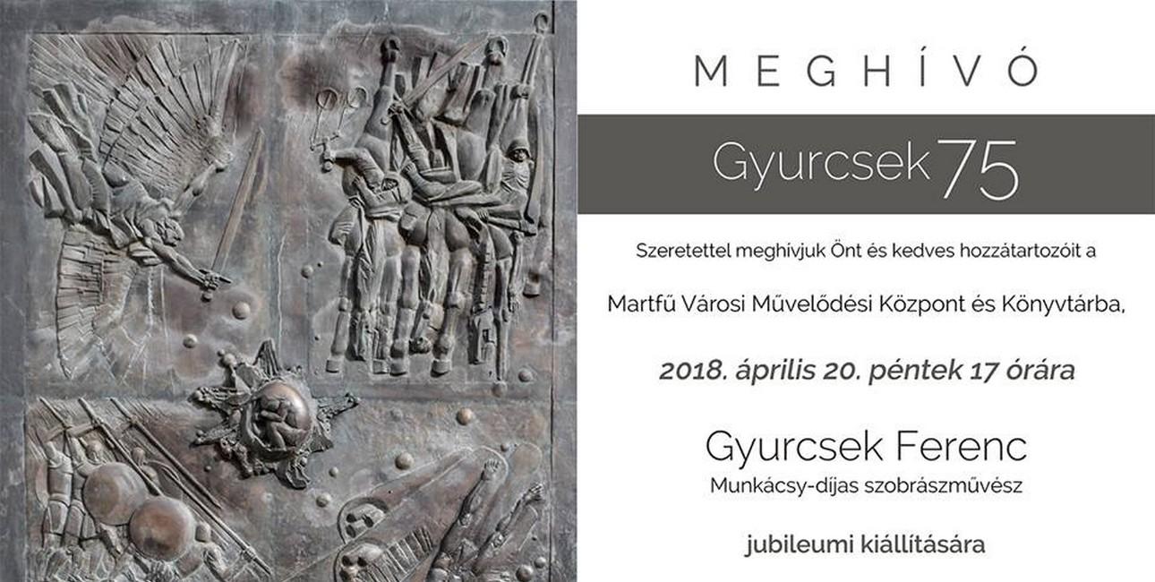 Gyurcsek 75 - Kiállítás