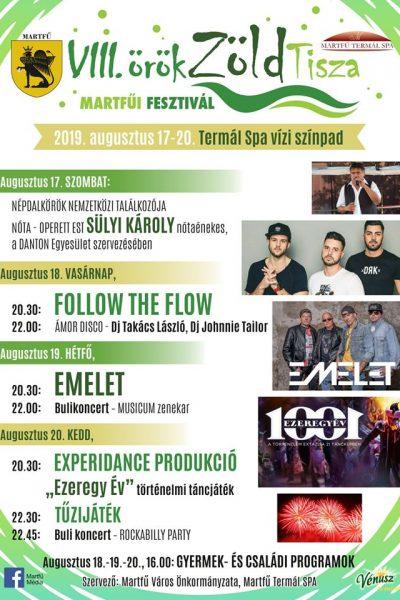 VIII. ÖrökZöld Tisza Fesztivál