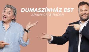 Dumaszínház - Aranyosi Péter és Badár Sándor közös estje @ Martfű Városi Művelődési Központ | Martfű | Magyarország
