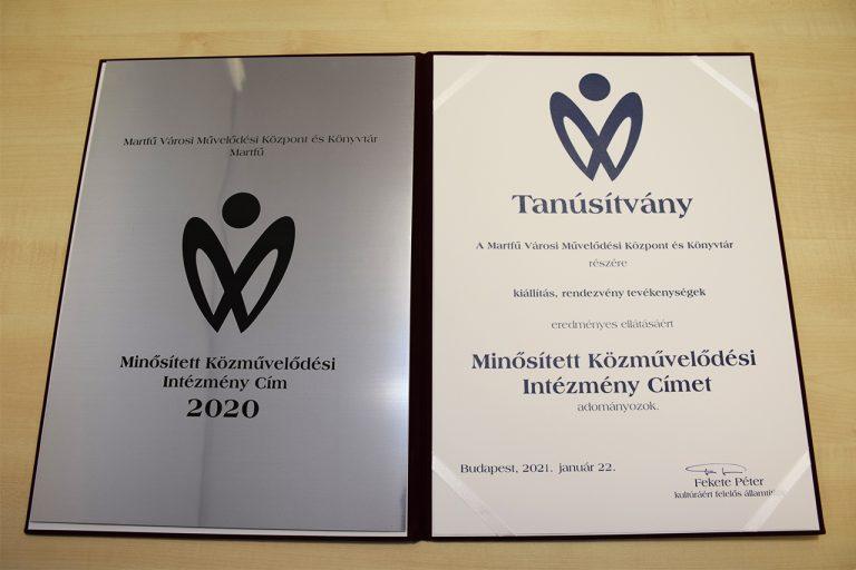 Minősítés 2021